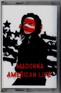 AMERICAN LIFE - CASSETTE SINGLE (SEALED)